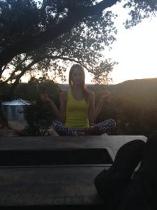 Tara in meditation